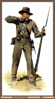 ACW Confederate: Civil War, by Don Troiani. (www.dontroiani.com)