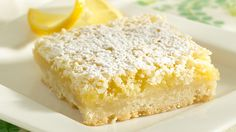 The sweet secret to the great lemon flavor of these bars? Fresh lemons!