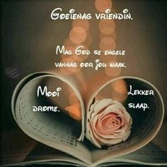 Good Night Blessings, Goeie Nag, Afrikaans Quotes, Good Night Quotes, Inspirational, Gallery, Pictures, Good Evening Wishes, Photos