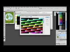Photoshop: How to work with custom swatches | video tutorial