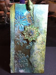 The Artistic Stamper Creative Team Blog: Snowflakes by Dee