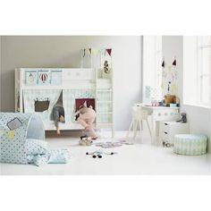 Kinderzimmer Mit Halbhochbett Flexa White Individuell