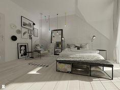Wnętrza mieszkalne 2015 - Nowoczesny i minimalistyczny pokój - zdjęcie od Art&Design Kinga Śliwa - Sypialnia - Styl Minimalistyczny - Art&Design Kinga Śliwa