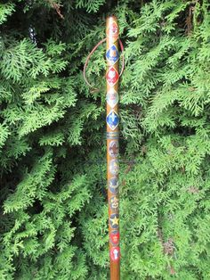 Boy Scout Wooden Hiking Walking Stick B.S.A. by BuxtonDesignStudio, $30.00