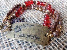 Check out this item in my Etsy shop https://www.etsy.com/listing/249083373/just-breathe-bracelet-bead-bracelet