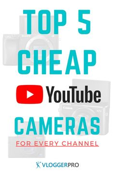 This list of the best cheap cameras for YouTube will help you find good cameras for a good price. These budget YouTube cameras will allow you to record better videos for a fair price.