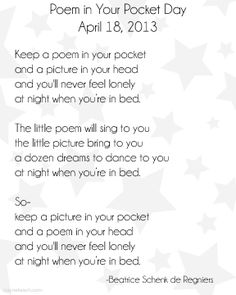 photograph about Keep a Poem in Your Pocket Printable titled 113 Excellent Nationwide Poetry Thirty day period photos within 2016 Poetry thirty day period