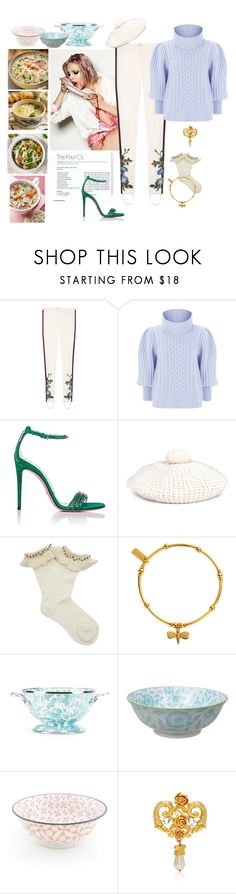 """""""Soup Season """" by juliabachmann ❤ liked on Polyvore featuring sOUP, Gucci, Temperley London, ChloBo, Golden Rabbit and Tokyo Design Studio"""