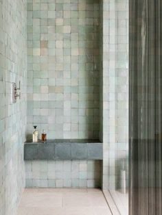 Nice tile color combo. More