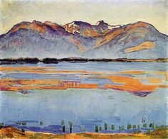 [ H ] Ferdinand Hodler - Lake Montana (1914) by Cea., via Flickr