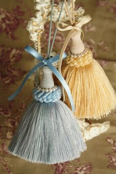Where there's a will there's a way to make tassels!
