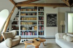kazu721010:  Appartment in Faubourg Saint-Germain / Pierre Yovanovitch