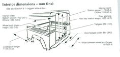 90 rear dimensions