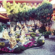 The Hsi Lai Temple is the most popular Buddhist Temple in all of Southern California.