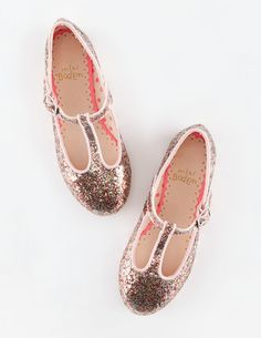 T-Bar Flats 54003 Shoes at Boden