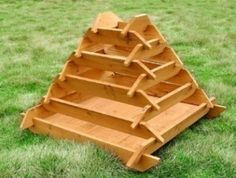 How To Make A Slot Together Pyramid Planter | DIY projects for everyone!