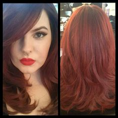 Tess Munster - This cut I want, soft curls, long sideswipe bangs, come on pleaaaase!