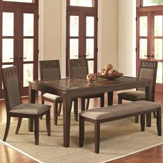Trinidad Table and Chair Set by Coaster