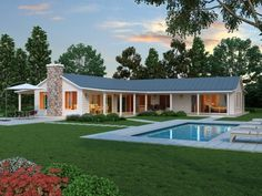 Tremendeous L Shaped House With Porch Captivating Home Ideas Best Interior Porkbelly. l shaped house plans with porches. Country Style House Plans, Craftsman Style House Plans, Ranch House Plans, Modern House Plans, Style At Home, Country Houses, L Shaped House Plans, Farmhouse Floor Plans, Ranch Style Homes
