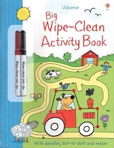 Big Wipe-Clean Activity Book. SO many dry erase activity books to choose from! Educational and tons of fun!