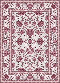 One of 4 alternate color variations included in the Sonja Digital rug pattern for Petitpoint. Also suitable for needlepoint or cross stitch. Available in our Etsy shop when you purchase the Sonja pattern. Thing 1, Dmc Floss, Cross Stitch Flowers, Filet Crochet, Needlepoint, Dollhouse Miniatures, Colorful Backgrounds, Needlework, Etsy Shop