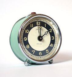 alarm cllock etsy @clockworkuniverse $35