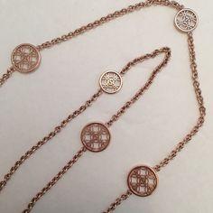 Michael Kors Monogram Station Necklace