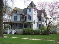 Wheeler Mansion; 1889 Victorian; McPherson, Kansas...this was my dream home when I was knee high to a grasshopper lol