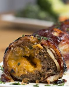 These BBQ Bacon Onion-Wrapped Meatballs Are The Ultimate Dude Food