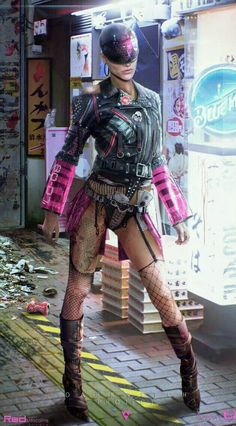 ArtStation - Alien Cyberpunk girl, by Arnaud Valette Cyberpunk 2077, Cyberpunk Mode, Cyberpunk Girl, Arte Cyberpunk, Cyberpunk Fashion, Cyberpunk Anime, Man Of Steel, Mode Apocalypse, Blade Runner