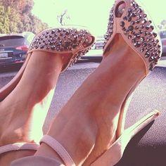 Shoespie Pink Peep Toe Strap Sandals