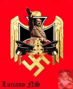 Adolf Hitler Nazi Propaganda, My World, World War Ii, Ww2 Posters, The Third Reich, Japan, Socialism, Hobbies And Crafts, Wwii
