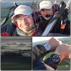 I had an amazing morning flight yesterday.  Such a great moment with two passionate people, thanks @jepcrem  for this unforgettable flight.  Both with our Gavox Aurora on our wrist. #gavox  #gavoxaurora  #paramotor  #paragliding  #fun #flight #friends