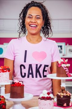 Pssst - Did you know that my PINK #IHeartCake tee is a LIMITED EDITION??