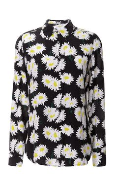 Grounded Floral Cdc Brett Clean Shirt by Equipment - Moda Operandi