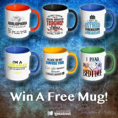 AwesomeLibrarians.com is giving away an 11oz mug of your choice! Enter now to win (it's easy). #AwesomeLibrarians