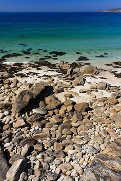 Shoreline at Sennen Cove, Cornwall, England