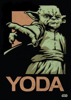 Star Wars Master Yoda metal poster - PosterPlate posters made out of metal