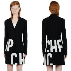 Vintage 90s Franco MOSCHINO Cheap & Chic Text by MakiMakiVintage