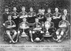 EVERTON FOOTBALL CLUB, league champions 1890/91.