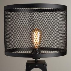 Riveted Table Lamp Shade | World Market