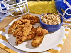 Get Sunny's Nashville Hot Chicken Dip Recipe from Sunny Anderson  (The Kitchen)   There are several other recipes for appetizers, and game day food!