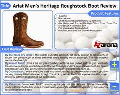 Ariat Men's Heritage Roughstock Boot Review