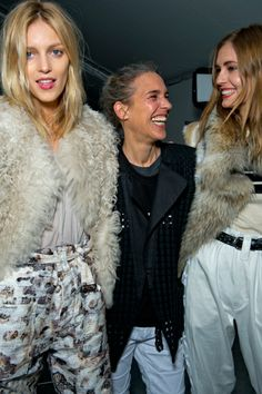 Backstage at Isabel Marant Autumn 2014. MATCHESFASHION.COM #MATCHESFASHION