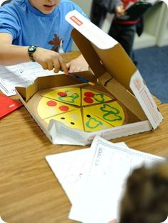 Pizza Fraction Activity