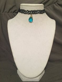 Tattoo Choker by WhimsicalCharmsCo on Etsy