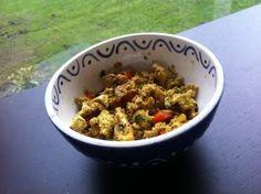 De Plantaardige Keuken: Indiase scrambled tofu