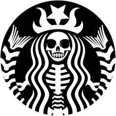 Creepy cup o Jo . Starbuck's kind of Halloween Halloween Pumpkins, Fall Halloween, Halloween Crafts, Halloween Decorations, Halloween Logo, Halloween Labels, Halloween Makeup, Halloween Costumes, Halloween Pumpkin Stencils