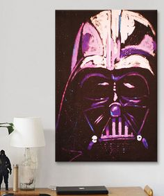 Loving this Darth Vader Gallery-Wrapped Canvas on #zulily! #zulilyfinds
