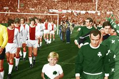 1971 Champions League Final Ajax - Panathinaikos became the first and ONLY Greek side to reach a European Cup Final! Football Final, Football Kits, Football Stadiums, Football Players, Van Basten, Afc Ajax, Legends Football, Class Games, European Cup